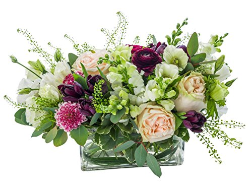 Starbright Floral Design- ''English Charm''- Hand Delivered Bouquet in Vase- New York City Area by Starbright Floral Design