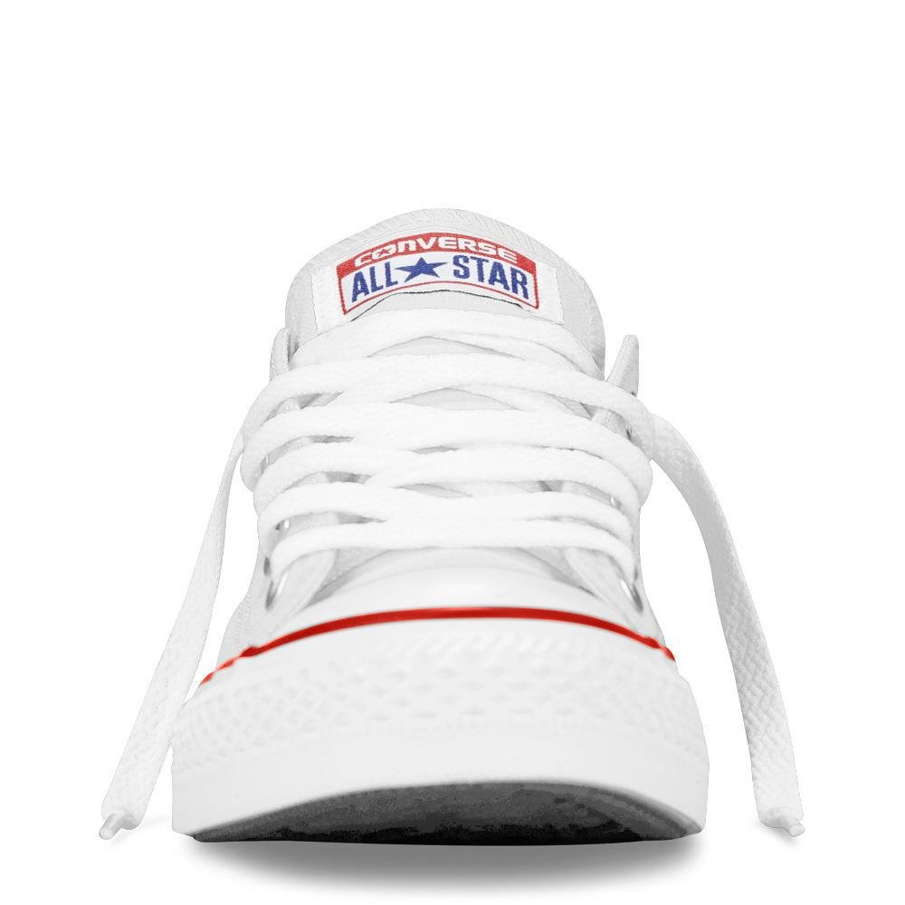 Converse Chuck Taylor All Star Canvas Low Top Sneaker, Optical White, 13.5 M US Little Kid by Converse (Image #9)