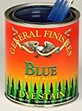 General Finishes Water Based Dye Stain Blue Quart