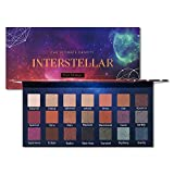 Professional Matte Shimmer Eyeshadow Palette 21 Colors Pigmented Eye Shadow Palette Blendable Long Lasting Shadow Neutrals Smoky Purple Shimmer Copper Metallic Gold Makeup Cosmetics