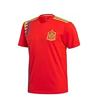 Lvbeis World Cup 2018 Hombres Sportswear Soccer Spain Camiseta Transpirable,Small