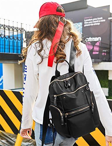 Wild de de Nueva capacidad Europa BISSER Travel Negro 2018 Girl hombro América Bolsa viaje gran Mochila y mochila qRzwZUY