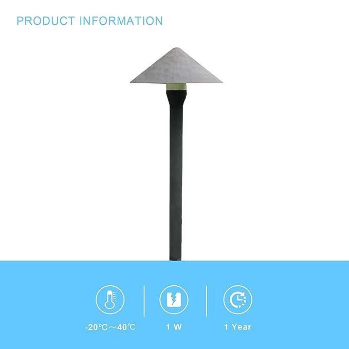 Amazon.com: Malibu 8406-9111-01 - Lámpara LED: Jardín y ...