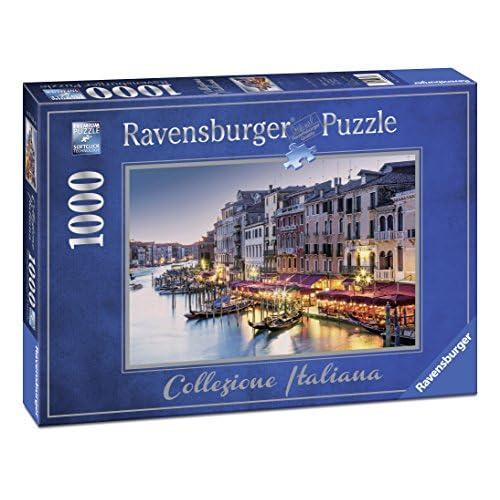 Ravensburger Puzzles 1000Pièces, collection italienne, Venezia (19670)