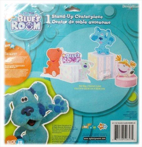 Clues Birthday Card Blues - Blue's Clues Room Centerpiece
