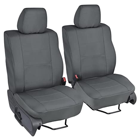 Excellent Polycustom Seat Covers For Ford F 150 Crew Cab 04 08 Single Bucket Easywrap Cloth In Charcoal Bralicious Painted Fabric Chair Ideas Braliciousco