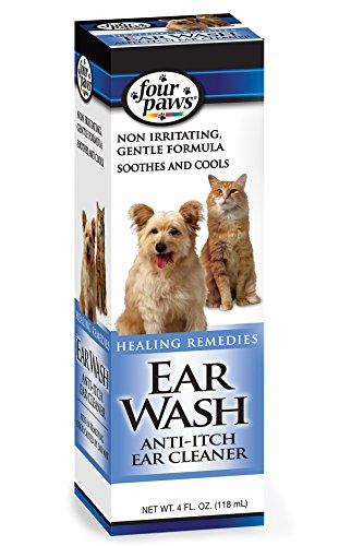 Four Paws Dog Ear Wash, 4oz (Wash Four)
