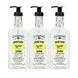 J.R. Watkins Hand Soap, Gel, 11 fl oz, Lemon (3 pack)