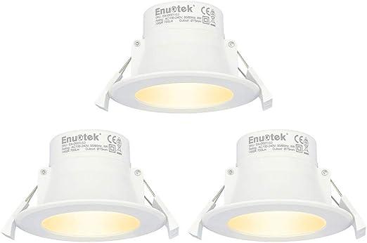 Enuotek Lampes Spots Encastres A Led Encastrable Plafond Led A