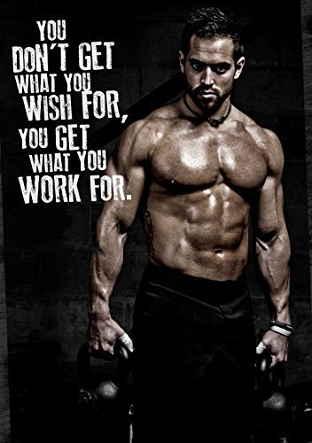 9ed176a57b8706 Rich Froning Jr crossfit Champion Fabric Cloth Rolled Wall Poster Print --  Size  (32