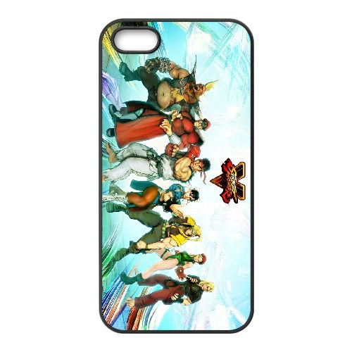 Street Fighter V 3 coque iPhone 4 4s cellulaire cas coque de téléphone cas téléphone cellulaire noir couvercle EEECBCAAN03087