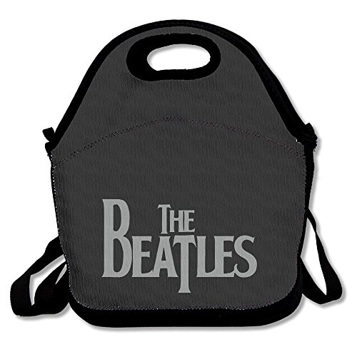 The Beatles Logo Lunch Box Bag For Kids Adult Men Women Girl Boy,lunch Tote Lunch Holder With Adjustable Strap ,double Shoulder