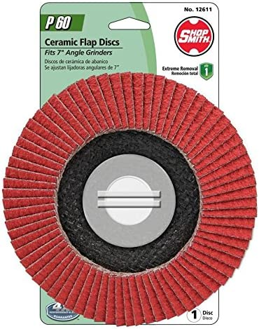 Shopsmith Ceramic 7-in 60-Grit Flap Disc