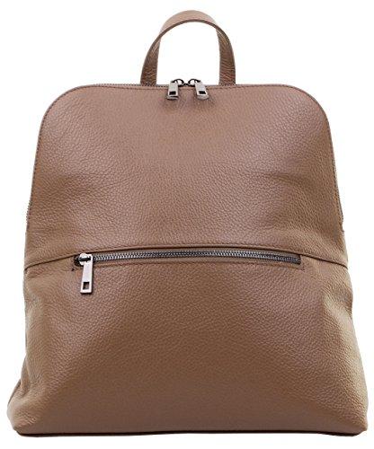Top de sac Sacchi® sac en le Inclut Primo italienne texturé marque dos protection Beige à poignée sac cuir bandoulière de foncé de stockage x8qTwPdXw