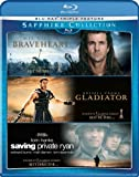 The Sapphire Collection (Braveheart/Gladiator/Saving Private Ryan) [Blu-ray] by Paramount