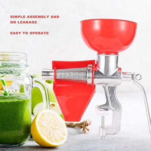 Exprimidor manual de aleación de aluminio para fruta, tomate, limón, naranja, verduras, utensilios de cocina para extraer la mayor cantidad de jugo