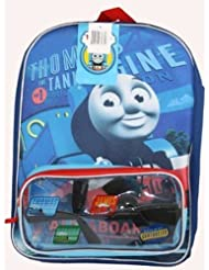 Thomas & Friends 16 School Backpack Clear Front Storage
