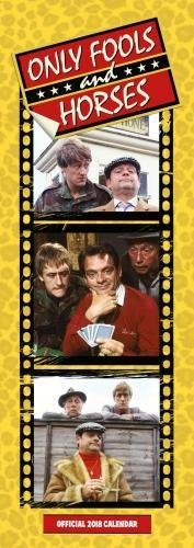 Only Fools And Horses Official Slim 2018 Calendar (Slim Calendar 2018)