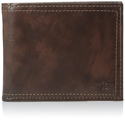 dockers-mens-slim-pocketmate-wallet-with-removable-card-case-brown-one-size