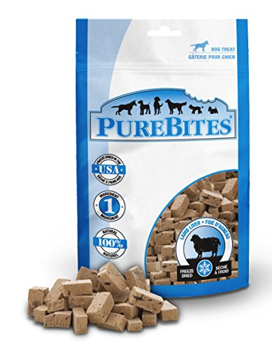 PureBites Lamb for Dogs, 3.35oz / 95g - Mid Size (Pure Treats)