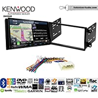 Volunteer Audio Kenwood Excelon DNX994S Double Din Radio Install Kit with GPS Navigation Apple CarPlay Android Auto Fits 2003-2008 Honda Pilot