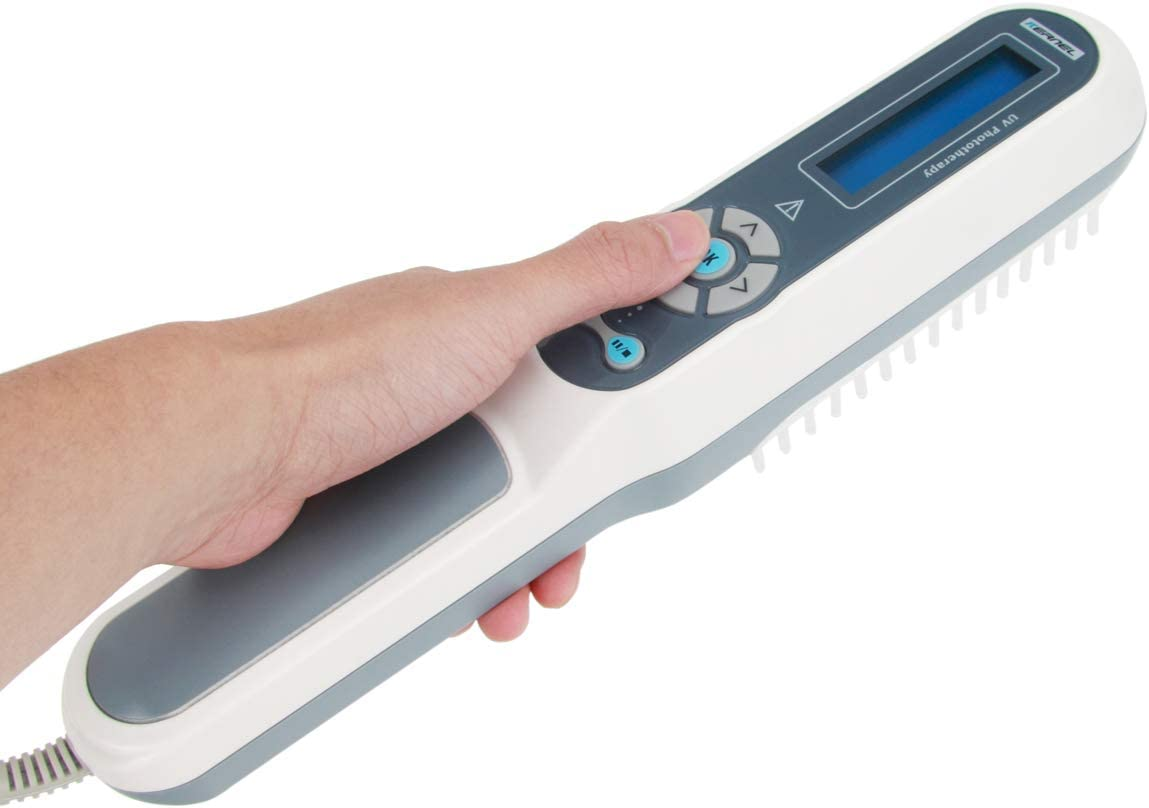 311nm Narrowband UV Phototherapy Light Therapy OFFicial Digital LCD Timer Max 72% OFF