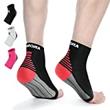 #4: Rymora Plantar Fasciitis Foot Compression Sock Sleeves Men Women - Relieves Pain - Supports Heel, Arch & Ankle