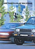 1991 Daihatsu Feroza 4x4 SUV Jeep Sales Brochure