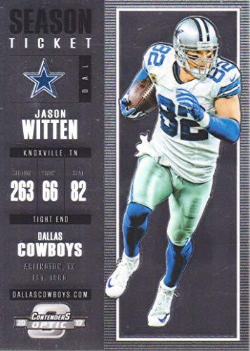 2017 Panini Contenders Optic Football #72 Jason Witten Dallas Cowboys