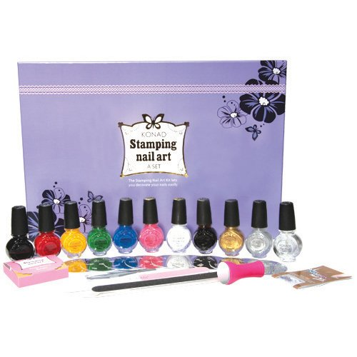 KONAD NAIL ART - A SET BRAND NEW!!! by KONAD Nail Art