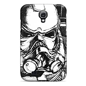 Durable Protector Case Cover With Hand Drawing Hot Design For Galaxy S4