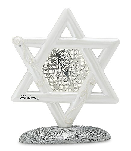 (Little Things Mean A Lot Star of David Self Standing, 5-Inch Tall)
