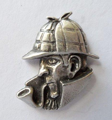 Sherlock Holmes Accessories (Sherlock Holmes London Pewter Pin Badge)