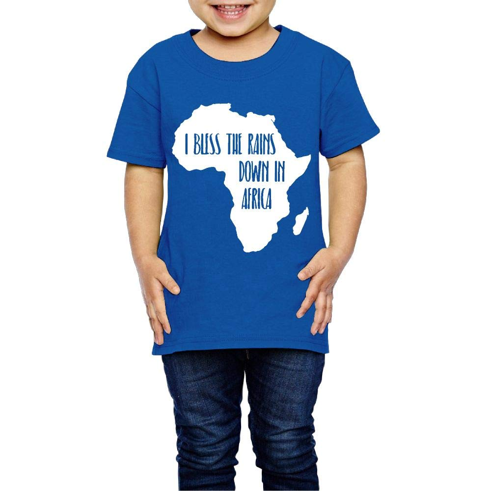 XYMYFC-E I Bless The Rains Down in Africa 2-6 Years Old Children Short Sleeve T Shirt