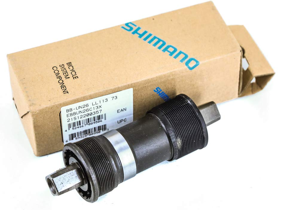 SHIMANO BB-UN26 Square Taper Bottom Bracket (68x127.5-mm)