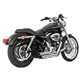 Vance & Hines Shortshots Staggered Exhaust Mufflers for Harley Davidson Sportster XL 04-, Chrome