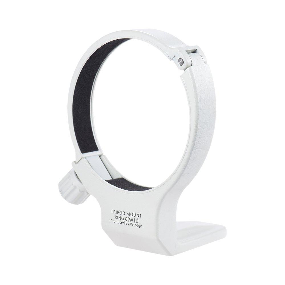 Andoer Aluminum Tripod Collar Mount Lens Ring for Canon EF 70-300mm f/4-5.6L is USM