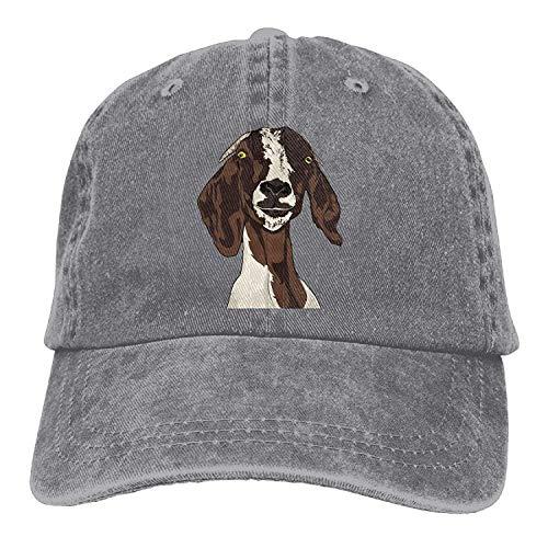 Cowboy Baseball Caps Unisex Adjustable Trucker Style Hats Expression Goat ()