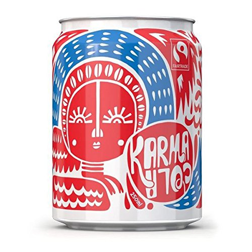 Karma Cola All Natural Sugar Free Karma Cola - Can 250ml (Pack of 24) by Karma Kola