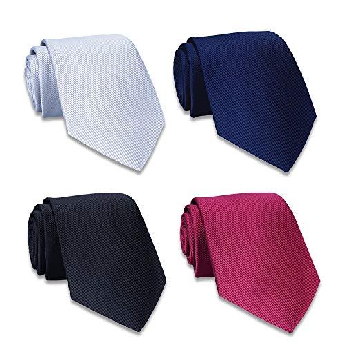 - AVANTMEN New Men's neckties 6 Pack Classy Neck Tie for Men Woven Jacquard Neck Ties