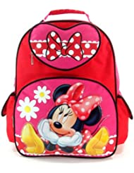 Disney Minnie Mouse Large 16 School Backpack- Bow Fever