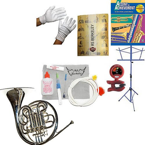RS Berkeley FR806 Artist Series Double Horn & Bonus RSB MEGA PACK w/Accent in achievement Book by RS Berkeley