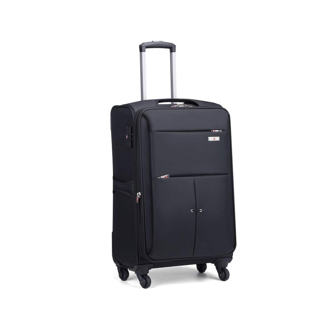 ラゲージボックス、アルミフレームトロリーケースユニバーサルホイールパスワードボックス搭乗用スーツケース耐摩耗性と耐引掻き性 (Size : 65L)   B07JQ1TXBB