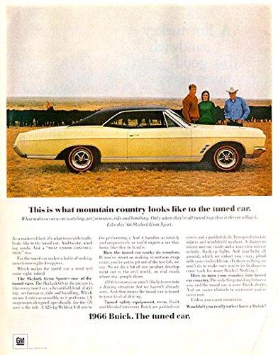 1966 BUICK SKYLARK GRAN SPORT 2-Door Hardtop