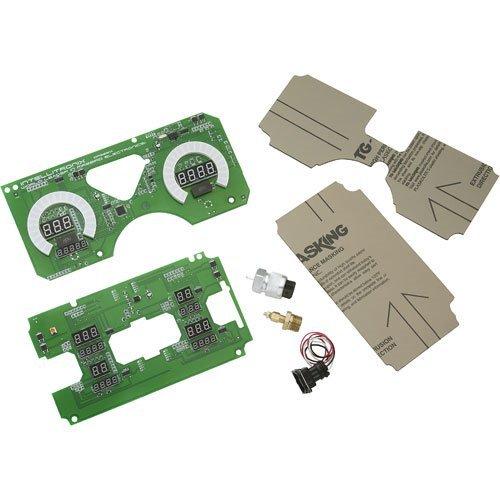 Intellitronix Firebird Digital Replacement Gauge Panel Green W/ All Necessary Sending Units