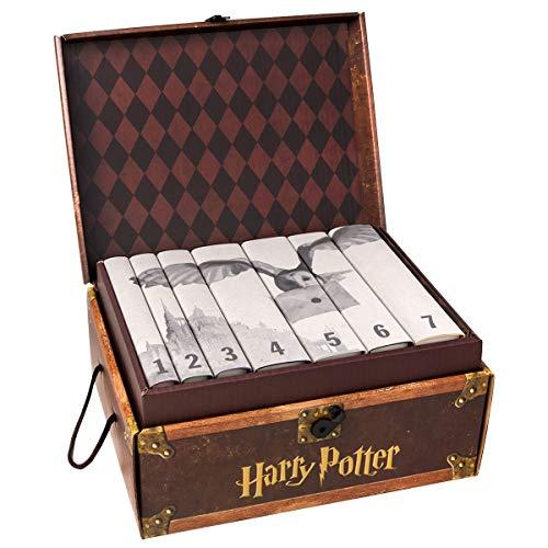 Juniper Books 7 Volume Harry Potter Book Set in Custom Book Jackets - Hogwarts Edition