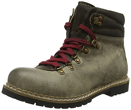 Spieth & Wensky 550 H Jarrek-Boots, Stivali Militari Uomo Beige (Whisky/Aventin 5040)