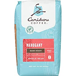 Image of the product Caribou Coffee, Mahogany Dark Roast, Whole Bean, 1 that is listed on the catalogue brand of Caribou Coffee.