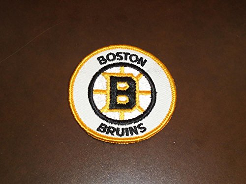 EARLY 1970'S BOSTON BRUINS NHL HOCKEY PATCH 3 INCHES DIAMETER
