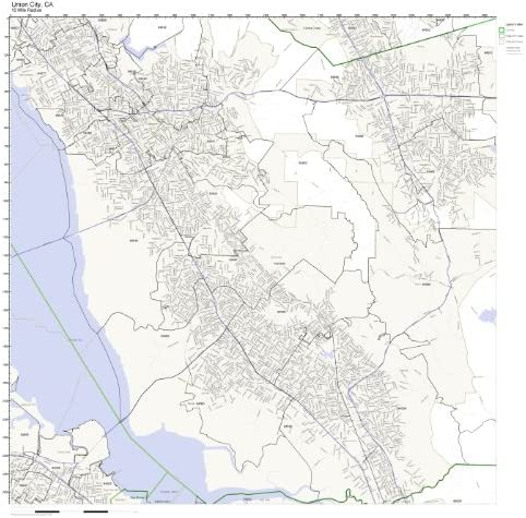 postal code california zip code map